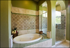 Bath tub tile